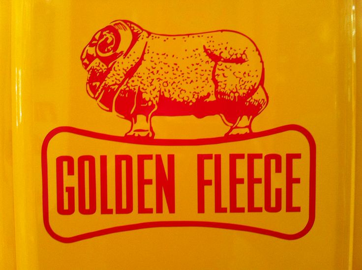 "Golden Fleece was a brand of petroleum products and service stations operated by H.C.Sleigh and Company. A partnership was founded in Melbourne, Australia in 1893 by Harold Crofton Sleigh (1867-1933 shipowner and merchant,) and John McIlwraith (1828-1902 manufacturer and shipowner). In 1913 the company took delivery of its first consignment of motor spirit from the United States and marketed it in Australia as ""Golden Fleece""."