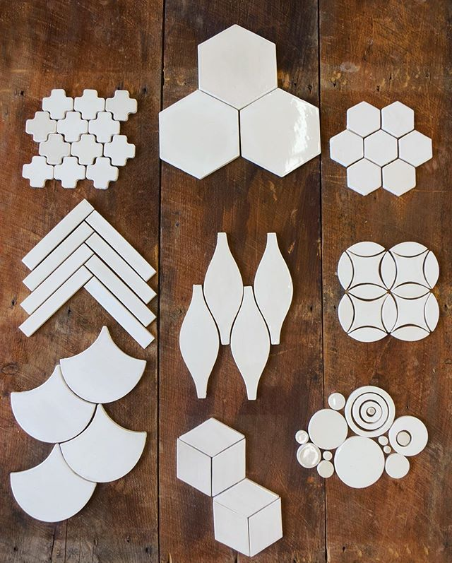 It all starts with a shape... ➖➕⚫️⬛️♦️ Which shapes are your favorite? Head over to our website to see all of the different shapes available! Moroccan Cross, Honeycomb, Subway Tile, Moroccan Hourglass, Moroccan Circles, Moroccan Fish Scales, Diamonds, Bubbles.... To name a few :)