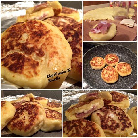 Hamburger di patate filanti! #foodblogger #patate #hamburger #mozzarella #prosciutto #ricette #cibo #foodtrend #foodporn