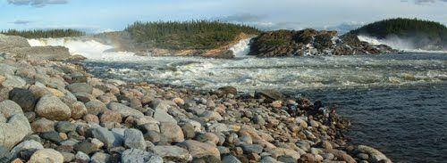 Les Chutes Limestone, sur la Caniapiscau