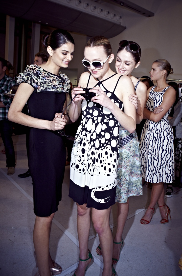 Backstage with AWW for Chop til you Drop Spring Lamb @ 30 Days of Fashion and Beauty