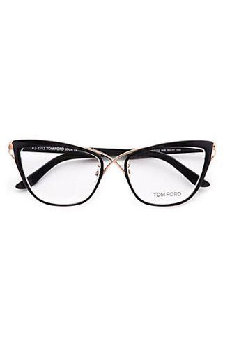 Tom Ford Eyewear Cat's Eye Eyeglasses, $495 :: wonder what these would actually look like on