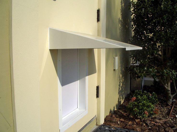 Through Wall Pet Door | The PlexiDor Pet Door Awning Prevents Rain, Sun,  Snow