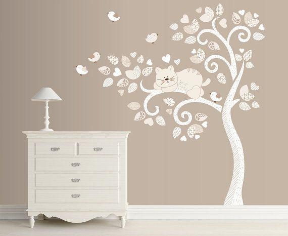Oltre 25 fantastiche idee su adesivi murali ad albero su - Stickers cameretta bambino ...