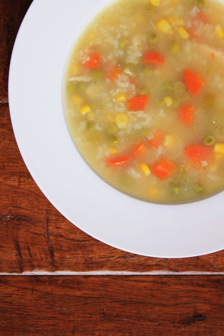 chicken rice soup chicken soups jillian harris good ideas soup recipes ...