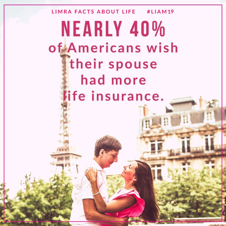 1 in 3 wish their spouse/partner had life insurance...or ...