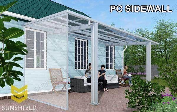 Retractable Sun Room Aluminum Patio Awnings Outdoor Patio Designs Patio