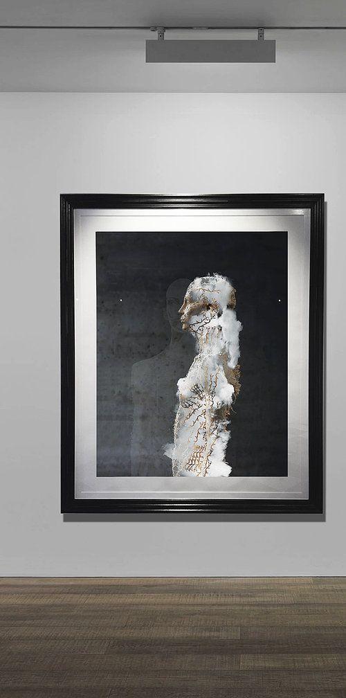 Vulnerable Fragments (F), at exhibition BAROQUE: TRANSHISTORICAL DIALOGUES, LaParis, Franschhoek, December 2014 #KarlGustavArt  #AngelicVoices