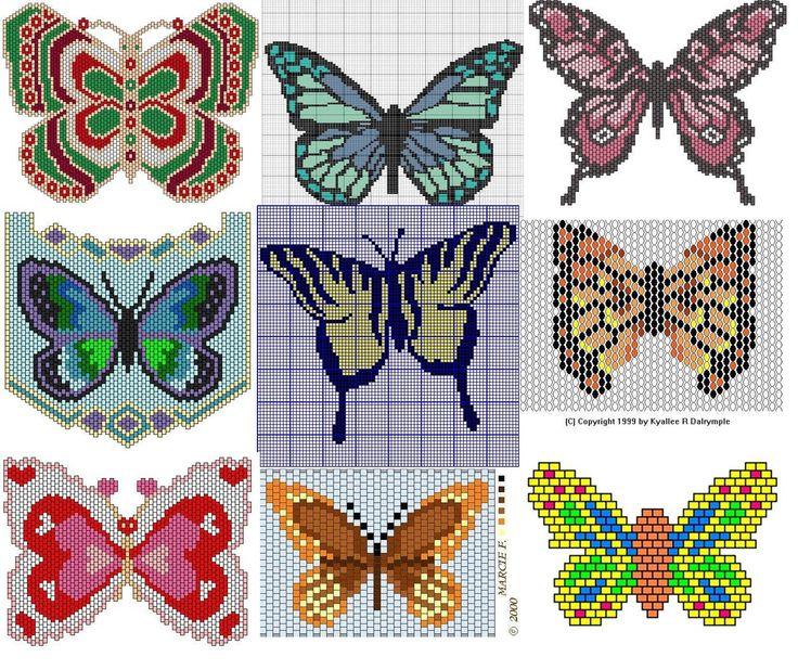 -butterfly bead weaving patterns