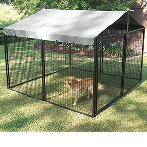 17 best ideas about 10x10 dog kennel on pinterest metal for Costco dog fence