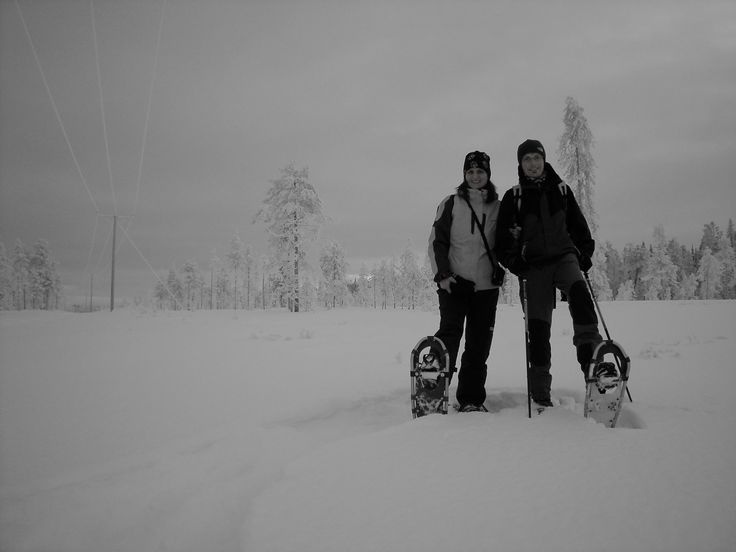 Snowshoeing in the National Park Syöte, Taivalkoski, Lapland, Finland www.visittaivalkoski.fi