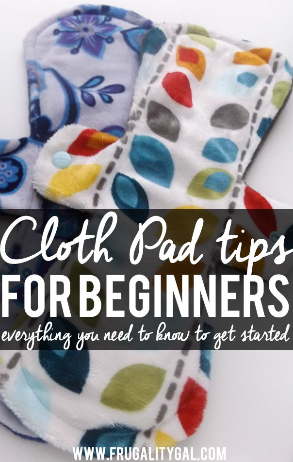 Thinking about switching to cloth pads? 10 common questions answered and tips for getting started!