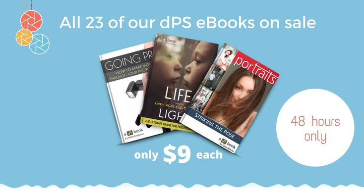 All dPS eBooks just $9 Today! (Save up to 80%)  Its that time of year again where here on dPS we put together some amazing deals in the 12 days leading up to Christmas.  In that time if youre subscribed to our newsletter or watch the blog here youll get access to some mega-discounts on dPS products as well as some very special offers from our partners.  It all starts today with all of our dPS eBooks available for just $9 each (USD).  Thats up to 80% off! But dont delay  this deal will be…