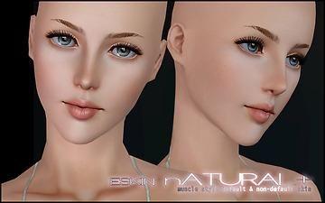 Sims  Natural Skin Mod