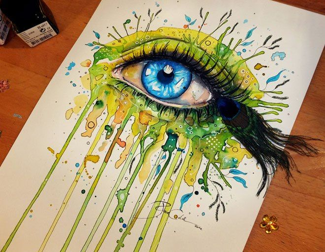 Artist Svenja Jodicke turns her art work into real life ...  Artist Svenja J...