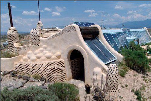 Greek Hobbit house