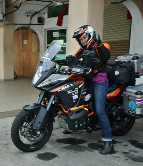 Thumbs up, now let's go ride #adv