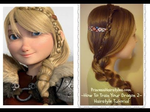 Astrid's Braid, How To Train Your Dragon 2 Hairstyle Tutorial<<I tried it, It looks awesome!