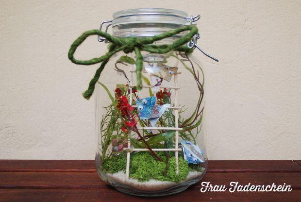 Frosch im Glas - Geldgeschenk ... frog money present