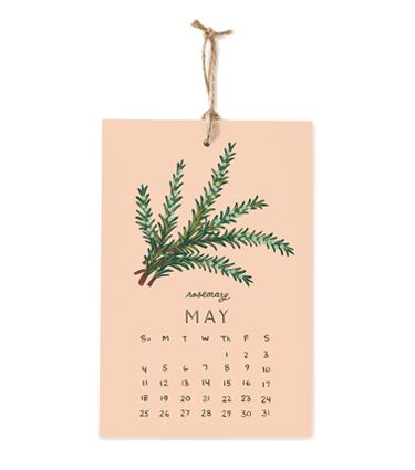 2014 Herbs and Spices Calendar - Rifle Paper Co.