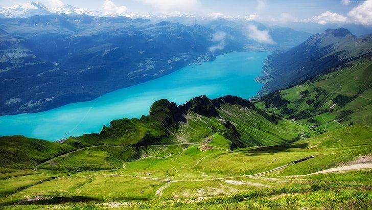 Mountains Lake Meadows 5k Switzerland 4k Alps Scenics Nature Hd Wallpaper Nature Desktop Wallpaper Nature Desktop Nature Hd
