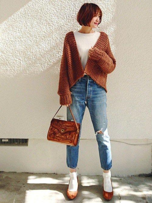 40代(アラフォー)レディースの秋冬ファッションコーデ8選 | Coolovely