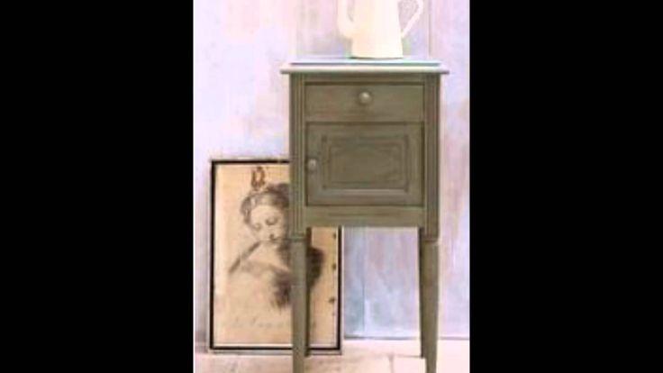 Annie Sloan krijtverf Olive voorbeeld