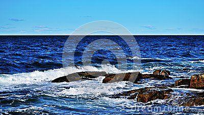 Atlantic Ocean by Rockport, Massachusetts, USA