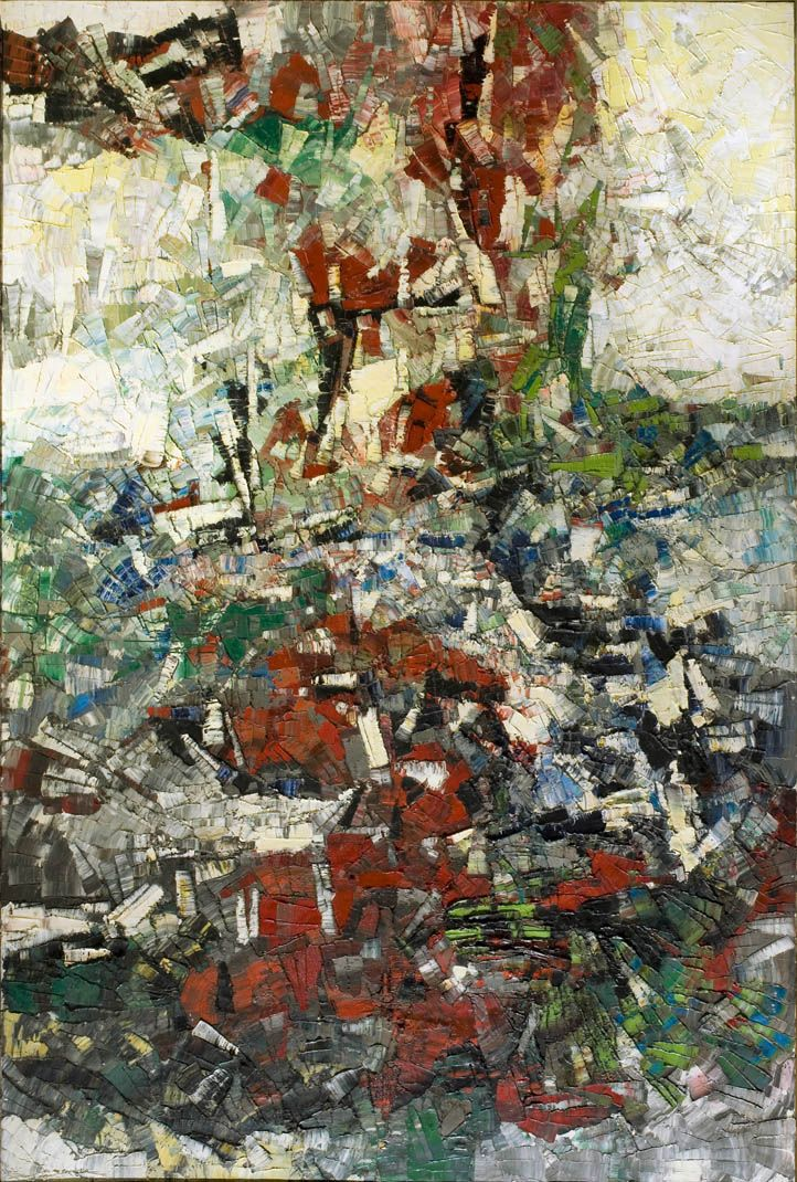 'Gravité' (1956) by Jean-Paul Riopelle