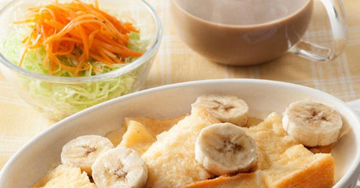 ホットラテ朝食 バナナパンプディング by ネスカフェ [クックパッド] 簡単おいしいみんなのレシピが270万品