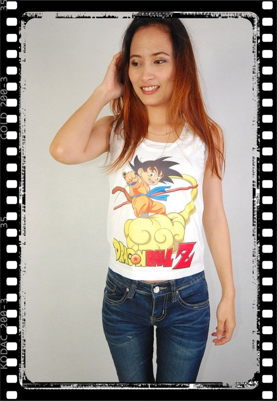 6aacba27b9888a4221f0a488e58b678c top crop womens tank tops 66 best dbz images on pinterest,Dragon Ball Z Womens Clothing