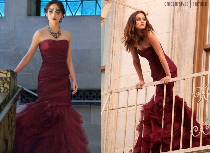 Vera Wang designed gown worn by Kristin Kreuk on BatB ...