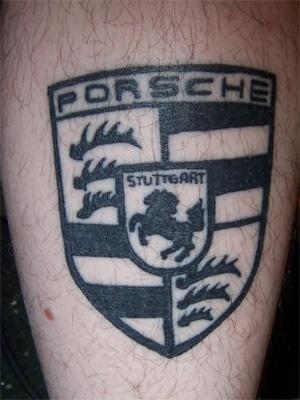 Fan 225 Ticos De Las Marcas Tatuaje Porsche Brands Tattoos