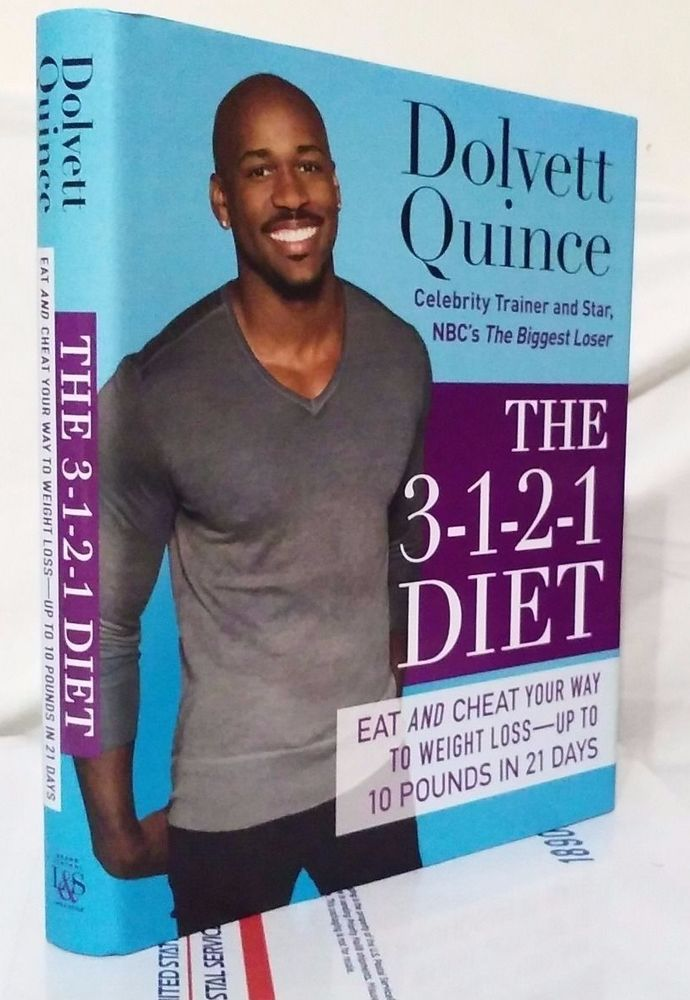 The 3-1-2-1 Diet by Dolvett Quince, Diet & Weight-Loss Book, NEW Hardcover 2013