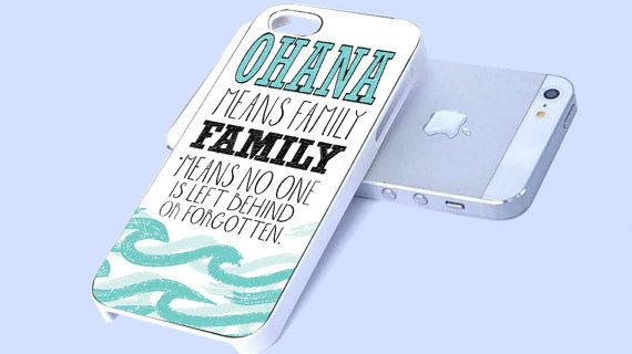 Ohana Means Family Lilo and Stitch Disney iPhone case, iPhone 4/4s/5/5c/5s Case, Samsung Galaxy s3/s4 case cover