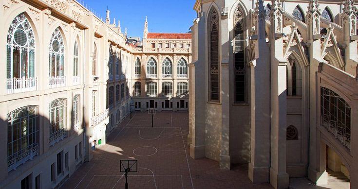 Colegios artísticamente destacables de Madrid