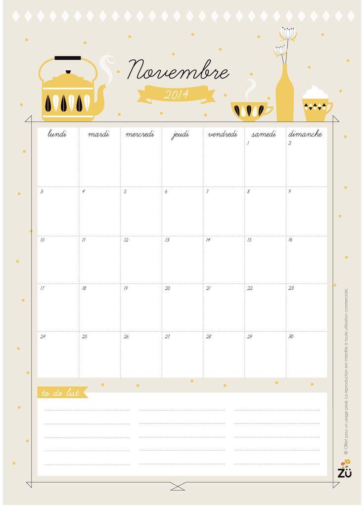 Calendar DIY - Novembre by Zü