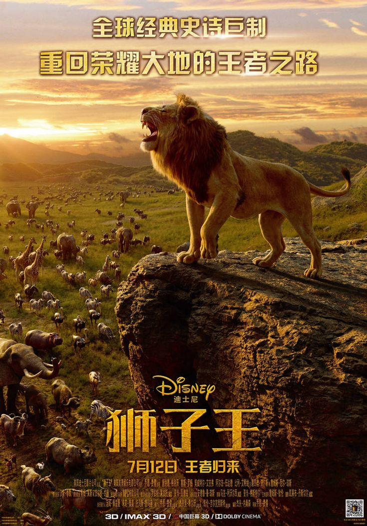 New Lion King 2019 Chinese Poster By Artlover67 On Deviantart In 2021 Watch The Lion King Lion King Lion King Movie