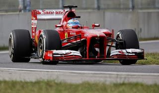 MAGAZINEF1.BLOGSPOT.IT: Il quinto posto in qualifica delude Alonso