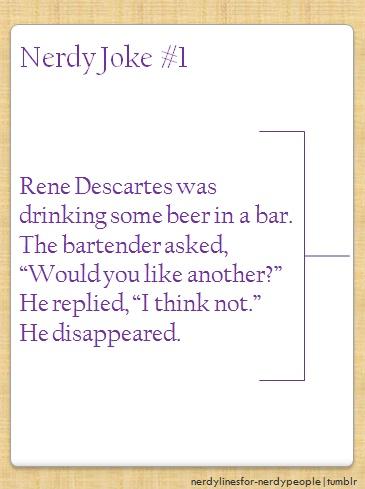 Poor Descartes