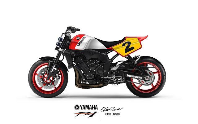 yamaha FZ1 Street Tracker design by Greasergarage - Matteo Scarsi #motorcycles #streettracker #motos   caferacerpasion.com