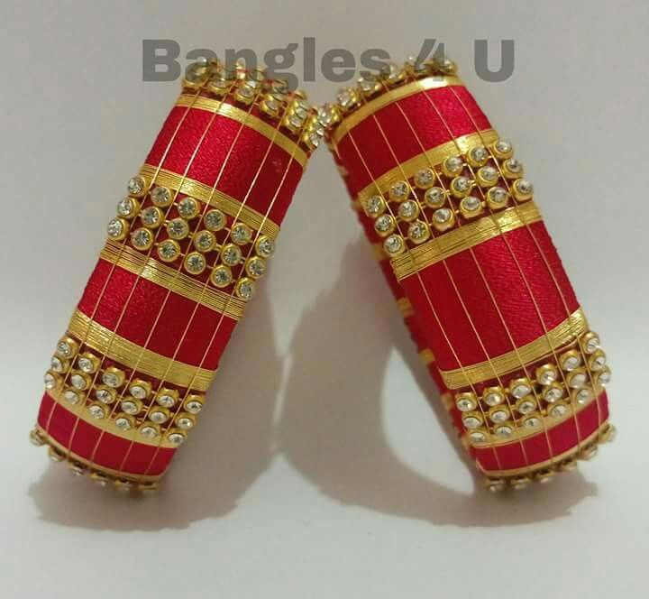 #wedding #silk #silk thread bangles #silk thread #jewellery #bangels #s