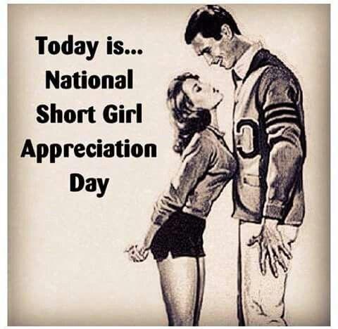 December 21st National Short Girl Appreciation Day