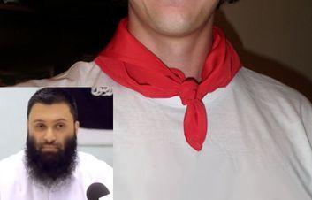 Als het aan Waleed ( betekent: inzet) ligt, worden Joden en christenen straks gemerkt met een rode band om hun hals.