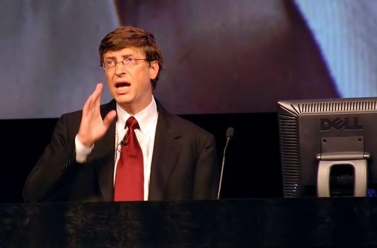 Bill Gates a jeho 5 lekcií o podnikaní