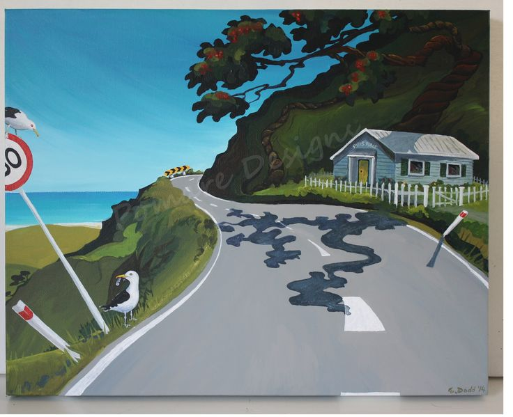 A Day in Pipi's Bay - SOLD