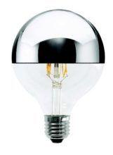 Lampada a LED Globo Cupola Argentata Wireled 5W - 1