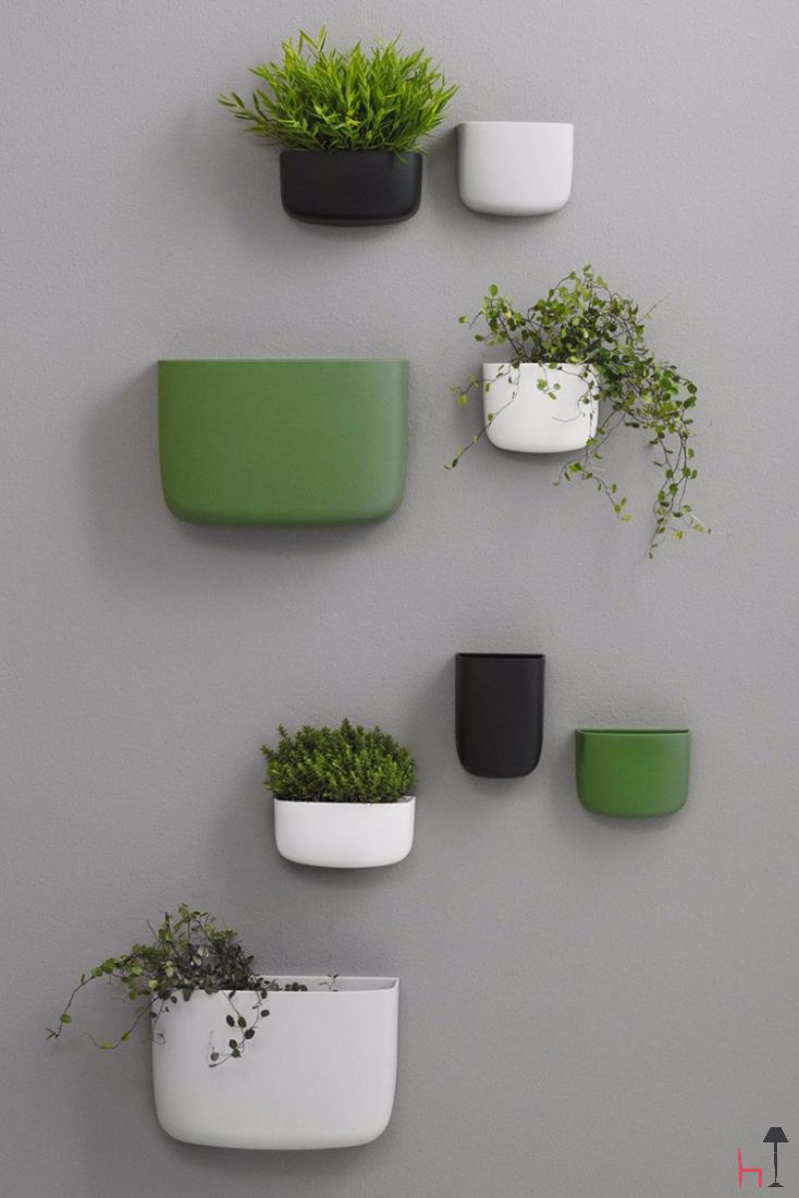 Pocket Organizer 1 is a versatile and decorative wall-mounted storage solution by Normann Copenhagen.