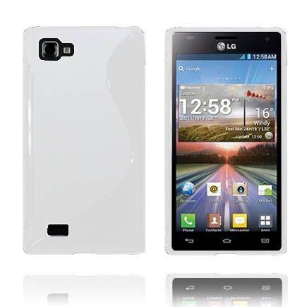 Solid S-Line (Hvit) LG Optimus 4X HD P880 Deksel