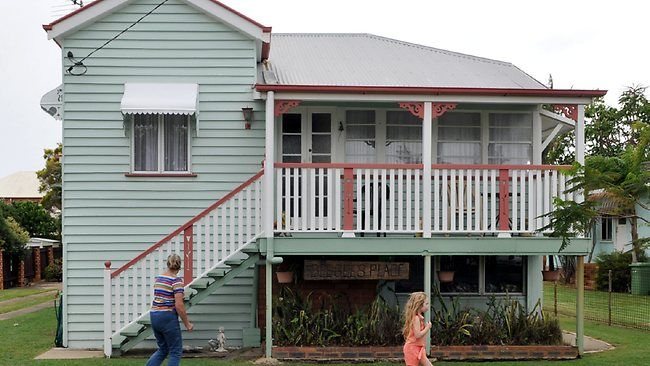 """The Bee Gee's family home in Scarborough Redcliffe QLD (sign hanging """"Bee-Gee's Place)"""